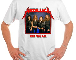 Camiseta Rock - Metallica