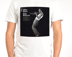 Camiseta Blues - Jazz - Miles Davis