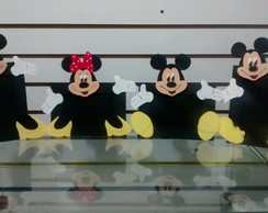 Porta Retrato Mickey e Minnie 10 un