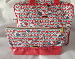 Kit Bolsa Enfermeira Hello Kitty