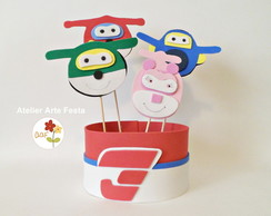 Enfeite de Festa Super Wings