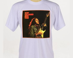 Camiseta Rock - Rory gallagher - Jimi Hendrix -Fender