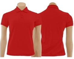 0ac741a441 Camiseta Gola Polo Rosa Pink Feminino no Elo7