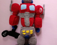 Transformers optimus prime amigurumi