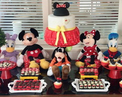 Festa Clean Minnie ou Mickey