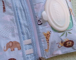 Bolsa kit higiene do bebe