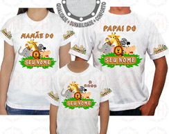 Kit 3 Camisetas Safari Camisa ah01404