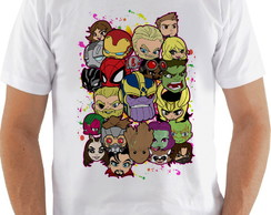 Camiseta Camisa Masculina marvel cartoon vingadores
