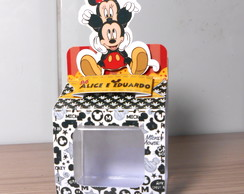 Caixa jujuba 3D - Minnie e Mickey