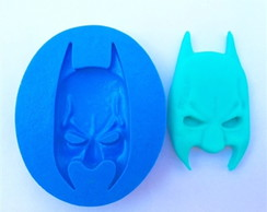 MOLDE DE SILICONE MASCARA DO BATMAN