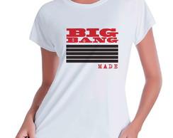 Camiseta Babylook Bigbang Made