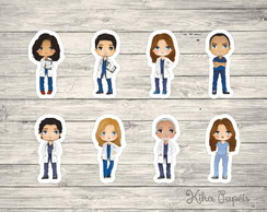 Aplique Grey's Anatomy 3,5 cm