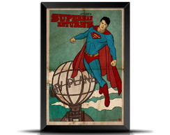 Quadro/Poster Retrô Superman Returns - GR001 20x30