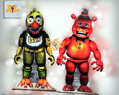 Display de Chão - Five Nights at Freddy's