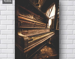 Placa Decorativa piano vintage