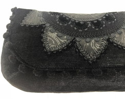 Clutch com Mandala Bordada LH13