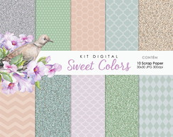 Kit Digital | Sweet Colors