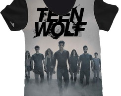 camiseta estampa total teen wolf feminino