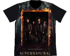 camiseta estampa total Supernatural