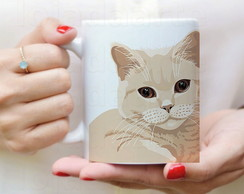 Caneca Gato British Shorthair - 1040
