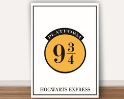 Poster Harry Potter A4