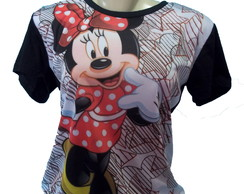 camiseta Minnie Mouse estampa total feminino #2