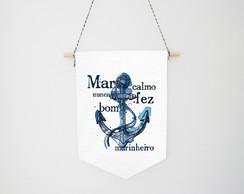 Mar Calmo Nunca Fez Bom Marinheiro Elo7