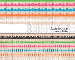 Bordas Lalaloopsy Kit Digital scrapbook + brinde