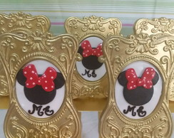 Porta retrato decorado Minnie