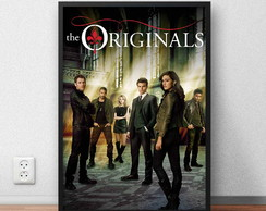 "Quadro Decorativo ""The Originals"" com moldura e vidro"