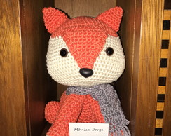 Raposa Fire Fox Amigurumi Crochet