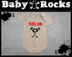 Body ou Camisetinha Pearl Jam Ten