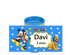 Cofrinhos Personalizados Turma do Mickey