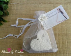 Lembrancinha casamento biscuit
