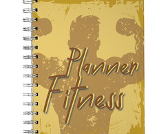 Planner fitness masculina semestral