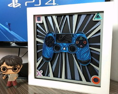 Quadro QUILLING controle Playstation