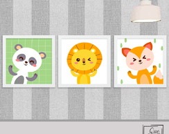 Trio Baby Animals