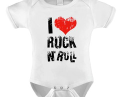 Body personalizado I love Rock n Roll