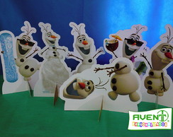Display de Mesa Frozen: Olaf