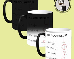 Caneca Mágica Personalizada - All You Need is LOVE