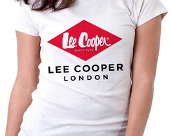 dfd9cbd03a Blusa feminina baby look camiseta Lee Cooper London no Elo7 ...