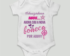 body bebe divertido nova boneca barbie engracado