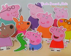 Display de Mesa em Papel Peppa Pig