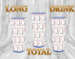 Copos Long Drink 360 Estampa Total - 350 ML
