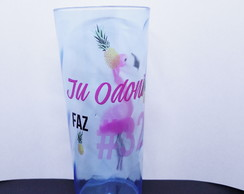 Copos Long Drink FLAMINGO OU TROPICAL