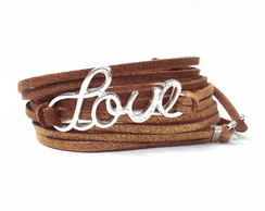 Pulseira Feminina Love Chocolate