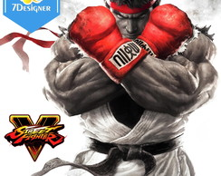 Kit Street Fighter (Painel, Banner, Adesivos, etc...)