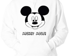 ... Blusa De Frio Moletom Canguru Com Bolso Mickey Mause Unisex c53628387ef