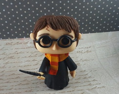 Harry Potter estilo Funk Pop em biscuit