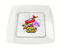 Prato de acrílico Super wings